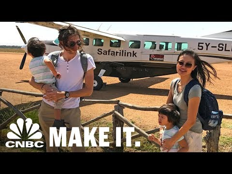 This Couple Goes On Round-The-World Trips For Free Using Credit Card Points | CNBC Make It.