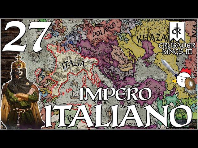 LA FURIA DANESE   Crusader Kings 3 ITA - IMPERO D'ITALIA #27