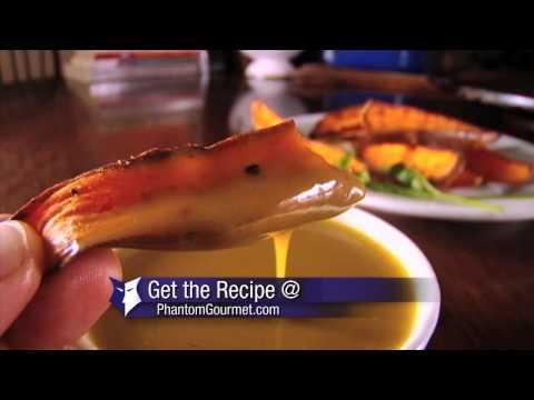 Spicy Sweet Potato Fries Recipe (Phantom Gourmet)