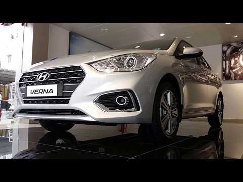 2017 Next Gen Hyundai Verna Exterior,Interior and Boot Space Silver and White Color 1080p