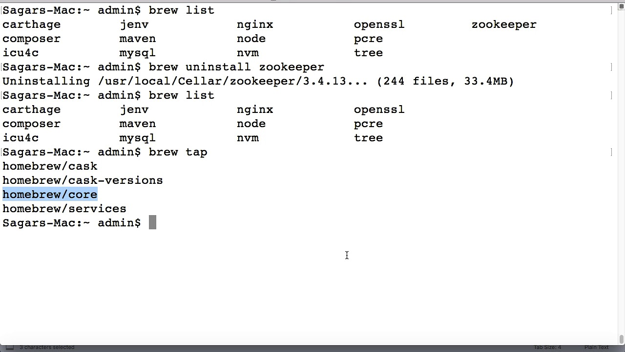How to install packages from third party repo in brew | tap repositories in  mac