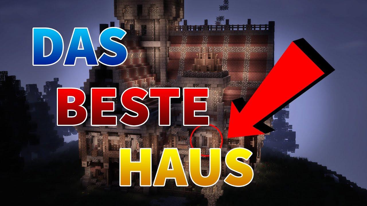 Das BESTE MITTELALTER HAUS Map Download Minecraft Haus Review - Minecraft mittelalter haus map