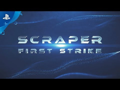 Scraper: First Strike - In-game Beta Combat Footage | PS VR