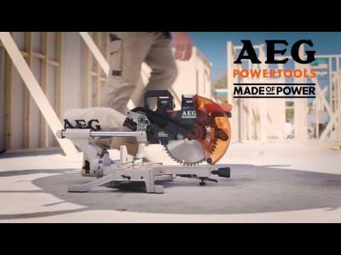 AEG 18V Brushless 254mm Mitre Saw