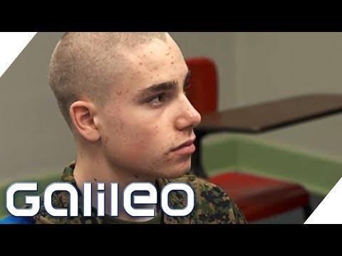 Schüleraustausch extrem: Basti in der Military Academy | Galileo | ProSieben