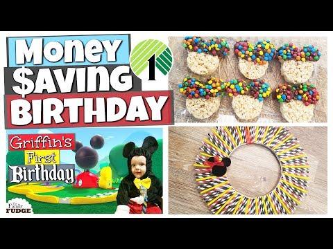 BUDGET Mickey Mouse Birthday || DOLLAR TREE PARTY Ideas, Recipes & DIYs