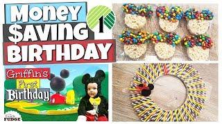 Mickey Mouse Birthday || DOLLAR TREE PARTY Ideas, Recipes & DIYs