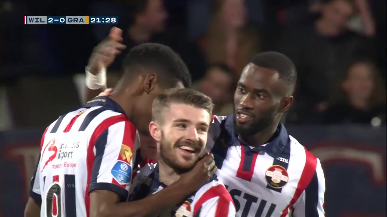 Ertirean Alexander Isak Score 2 Goals Willem II Vs De