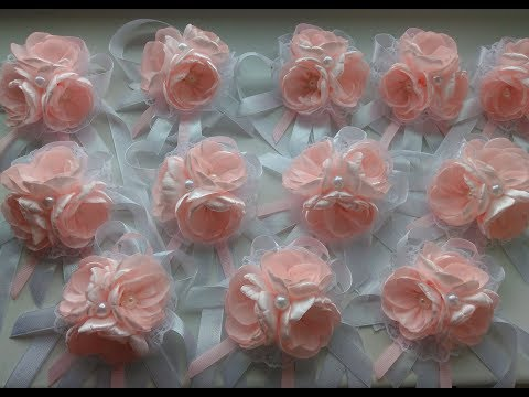 Браслеты из лент для подружек невесты своими руками из лент