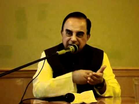 Part 7/7 - Current Political Situation In India - Subramanian Swamy in New Jersey