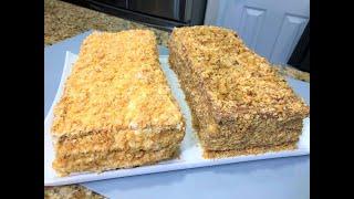 Торт НАПОЛЕОН Два Новых Рецепта Сожалею что не готовила их раньше Бесподобные Праздничные ТОРТЫ