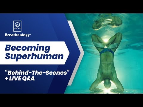 "Becoming Superhuman; ""Behind-The-Scenes"" + LIVE Q&A: Guinness World Record Ice Diving Adventures"