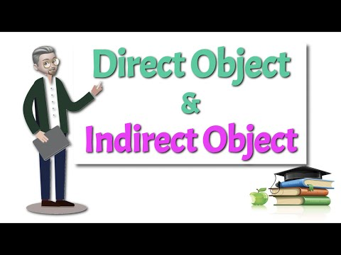 ESL - Direct and Indirect Objects