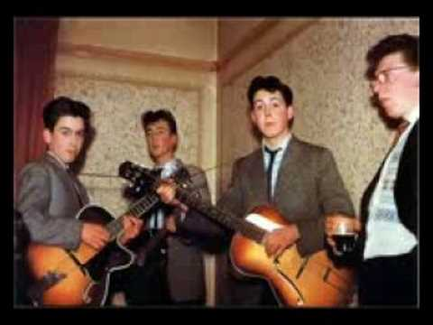 The first song ever recorded by The Quarrymen(Pre-Beatles)