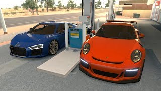 Forza Horizon 3 Online - Audi R8 V10 Plus & Porsche 911 GT3 RS