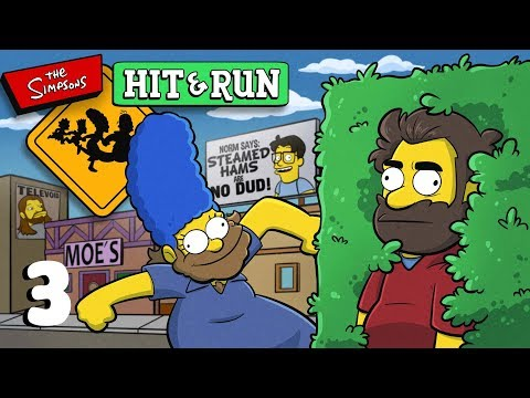 The Simpsons Hit and Run | Let's Play Ep. 3 | Super Beard Bros.
