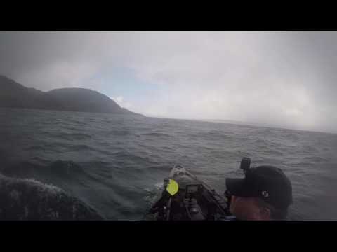 How quickly the weather can change at sea.