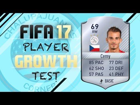 FIFA 17 | Václav Černý | Growth Test + Gameplay