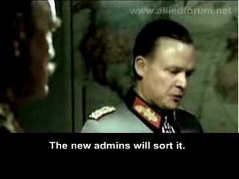 Forum admin downfall