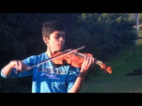 Jothe Jotheyali -( ಜೊತೆ ಜೊತೆಯಲಿ) - Instrumental karaoke - Suraj Nagaraj - (Violin cover)