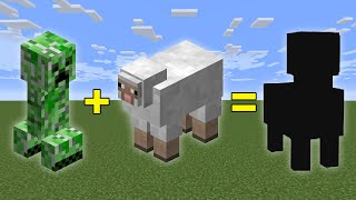 Minecraft, But Creepers and Sheep Can Have Babies