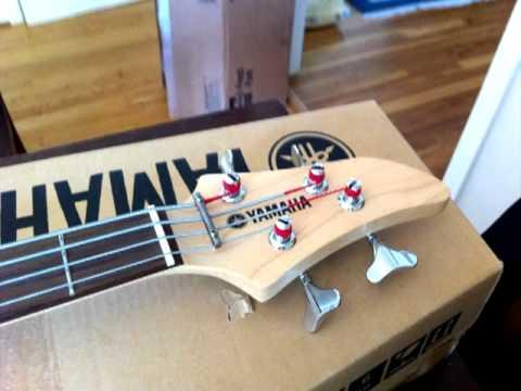 Yamaha RBX170 Electric Bass Sound Demo