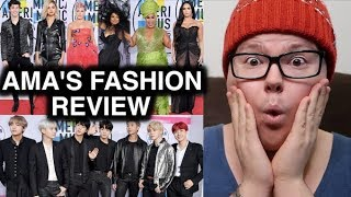 AMAs FASHION REVIEW | GENUINELY GAGE