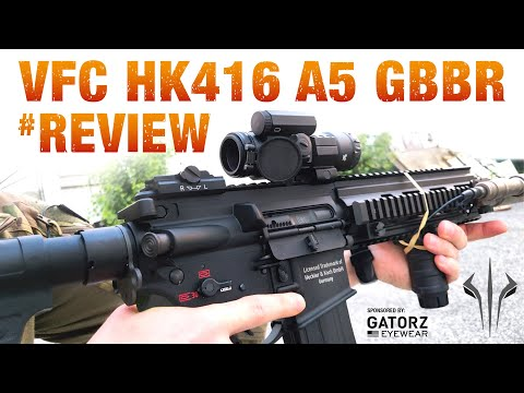 VFC HK 416 A5 GBBR Review