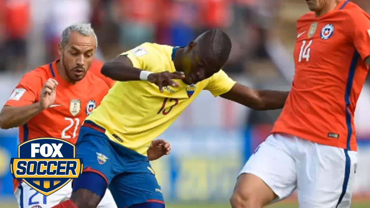 Enner Valencia fakes an injury to avoid arrest