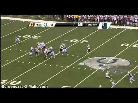 Nfl Pre Season (2011-2012) Washington Redskins Vs Indianapolis Colts