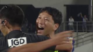 2018年7月25日(水)に行われた明治安田生命J2リーグ 第25節 山形vs岡...