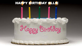 Ollie - Cakes Pasteles_519 - Happy Birthday