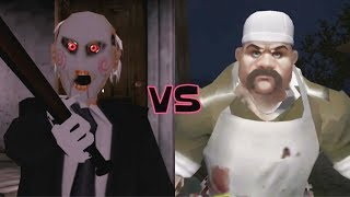 Jigsaw Granny vs Scary Butcher 3D