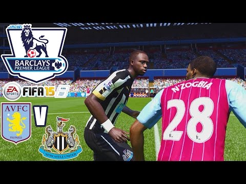 Aston Villa FC vs. Newcastle United   jmc Premier League   FIFA 15