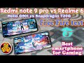 - Redmi Note 9 Pro vs Realme 6 Free Fire Test, Helio G90T VS Snapdragon 720G, app opening test 😳