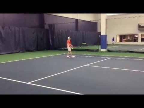 Peter Lundgren training Sebastian Fernandez