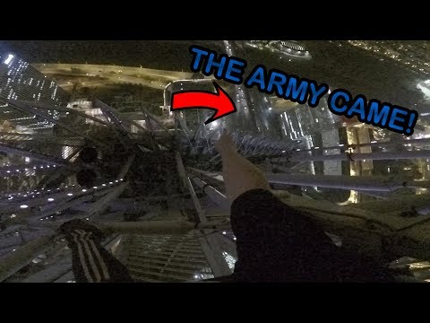 HELD AT GUNPOINT! Climbing tallest building in Paris *ARRESTED*