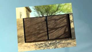 Custom Installed Phoenix Rv Gates To Protect Your Backyard