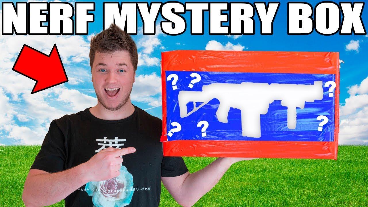 Nerf Ebay Mystery Box Challenge 📦⁉️ 10 000 Golden Gun