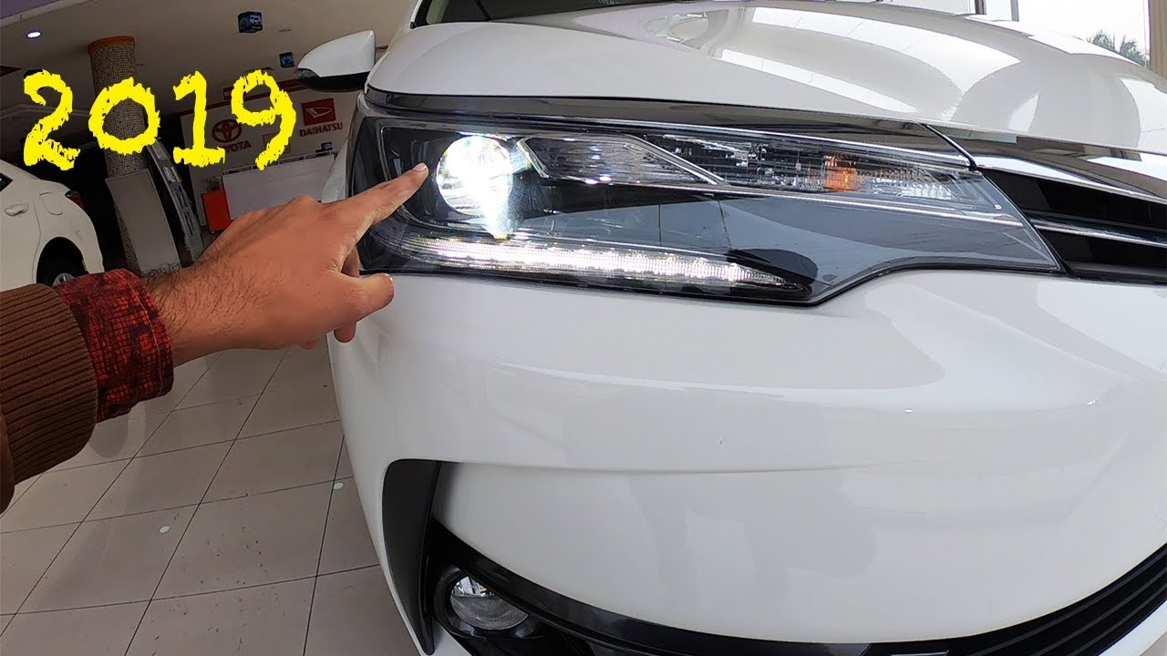 2019 Toyota Corolla Altis Grande Full Video In Pakistan