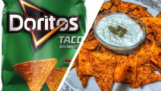 Evde Doritos Cips Yaptım  Doritos Cips Tarifi  How to make Doritos Chips Recipe