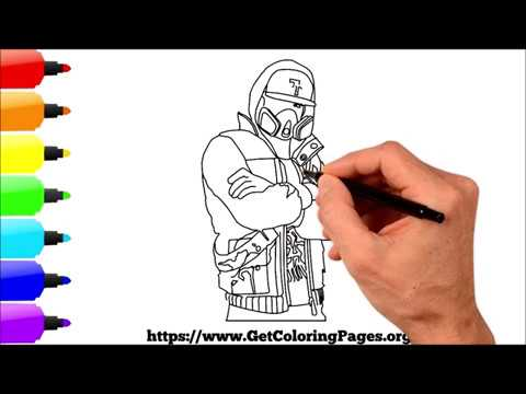 How to Draw Abstrakt Fortnite