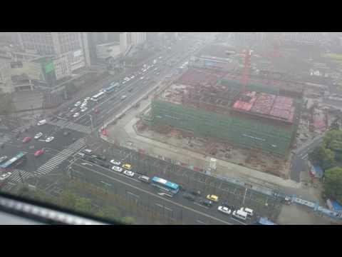 Timelapse traffic in outer Shanghai