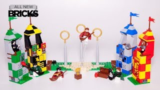 Lego Harry Potter 75956 Quidditch Match Speed Build