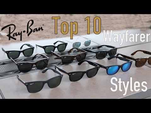 Top 10 Ray-Ban Wayfarer Sunglasses Styles