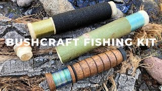 DIY Bushcraft Hobo Reel, Catch More Fish!