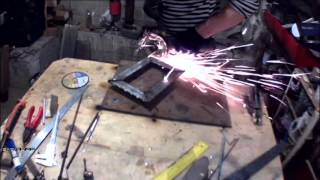 Изготовление каминной вентиляционной решетки(, 2015-12-25T16:41:03.000Z)