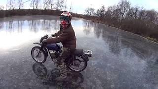 Минск 200 на льду ЛОХнесского озера