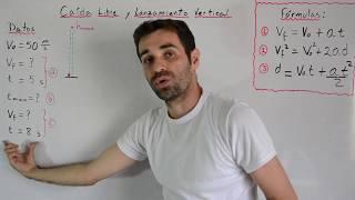 Problema de Lanzamiento Vertical | Caída Libre | Física uc...