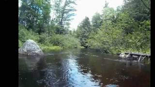 Adirondack paddling waters - Rollins Pond Outlet